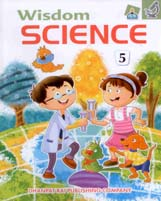 + Wisdom Science-5 + Dhanpatrai Books